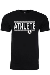 ATHLETE Black/White Crazy tees