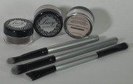 Eye Shadow, Liner and Brush Kit