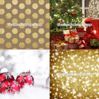 Four Pack Combo for Less - 4 Photography Backdrops - Items 2133, 1757, 1759 & 422 - As Seen or Mix and Match