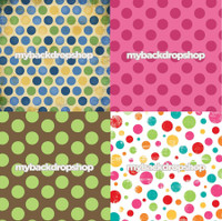 Four Pack Combo for Less - 4 Photography Backdrops - Items 236, 698, 596 & 190 - As Seen or Mix and Match