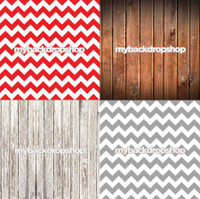 Four Pack Combo for Less - 4 Photography Backdrops - Items 1209, 1111, 1371 & 1170 - As Seen or Mix and Match
