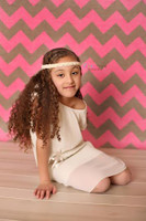 Pink Chevron Photography Backdrop - Burlap Photography Backdrop - Item 2171