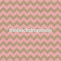 Light Pink Chevron on Burlap Photography Backdrop - Item 2250