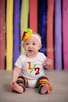 Rainbow Wood Photography Backdrop  - Item 1516