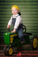 Green Stripe Photography Backdrop - Item 1541