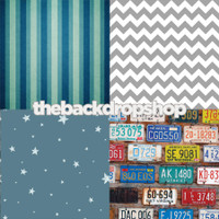 Four Pack Combo for Less - 4 Photography Backdrops - Items 1552, 1170, 1632 & 1478 - As Seen or Mix and Match