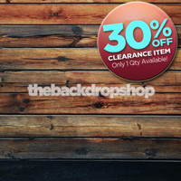 CLEARANCE - VINYL - 4ft x 4ft Dark Wood Floor Backdrop - Wood Plank Photography Backdrop - Stained Wood Floor Drop - Item 384
