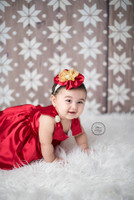 White Christmas Snowflake Wood Photography Backdrop - Item 2156