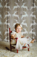 Christmas Reindeer Wood Photography Backdrop - Item 3021