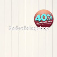 CLEARANCE - VINYL - 8ft x 8ft White Wood Floor Drop for Photos - Ivory Wood Plank Backdrop - Exclusive Design - Item 2022
