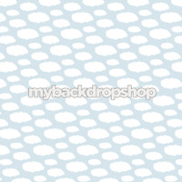 Blue Cloud Photography Backdrop - Cloud Backdrop for Kids - Item 3129