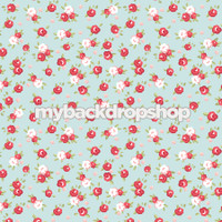 Baby Girl Infant Photography Prop - Rose Pink and Blue Photography Backdrop - Item 3159