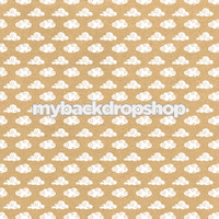 Neutral Cloud Patterned Photography Backdrop - Item 3215