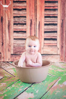 Green Rustic Wood Photography Floordrop or Backdrop - Item 128