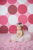 Modern Pink Dot Backdrop - Item 145