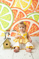 Cute Kids Fruit Backdrop - Item 155