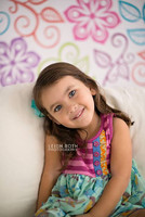 Whimsical Photography Backdrop - Floral  Backdrop - Item 294