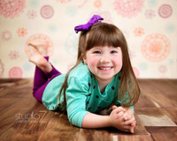 Fun Floral Photo Backdrop For Kids - Item 299