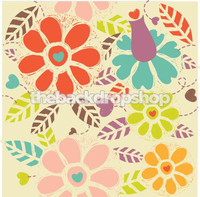 Cheery Backdrop for Photo Session - Colorful Photography Backdrop for All Occasion - Item 316