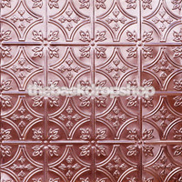 Pink Tin Tile Pattern Photo Backdrop - Item 343