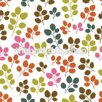 Fun Multicolor Leaf Design - Item 366