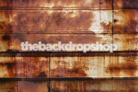 Rusted Tin Roof Photography Backdrop or Floor Drop - Couples Portrait Photo Background or Kids Photo Prop - Item 409