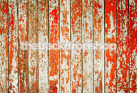 Rustic Red Orange Barn Siding Background for Portraits - Portable Backdrop for Family Pictures - Item 416
