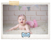 Cream Brick Wall Background for Portrait Photography - Brick Backdrop or Floor Drop Prop - Item 420