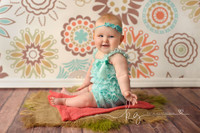 Boho Flower  Photography Backdrop for Photos - Cheap Photography Props - Item 635