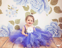 Blue Flower WallpaperBackdrop - Item 649
