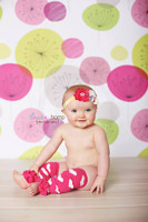 Flower Background for Kids Photo Sessions - Cheap  Floral Photography Backdrop - Item 688