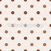 Neutral Polka Dot Photography Backdrop - Item 736