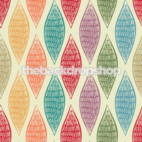 Colorful Geometric Leaf Photography backdrop  - Item 743