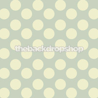 Light Blue Polka Dot Photography Backdrop - Item 867