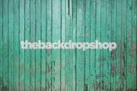 Turquoise Blue Wood Floordrop for Photoshoots - Item 886