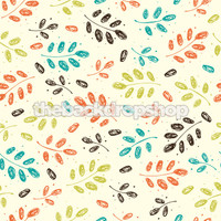 Leaf Pattern Photography Backdrop - Item 925