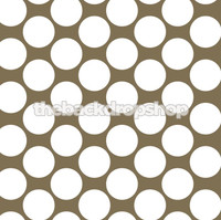 Coffee Brown Polka Dot Photography Backdrop - Item 929