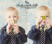 Blue Damask Photography Backdrop - Baby Boy Photo Prop -  Photo Background - Item 942