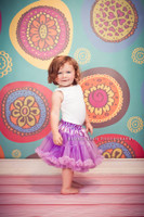 Multi Color Circle Backdrop for Kids - Item 965