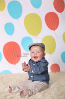 Fun Balloon Wallpaper Backdrop - Item 1026
