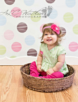 Baby Photoshoot Backdrop Prop - Newborn Portrait Photography Backdrop - Item 1029