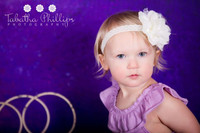 Solid Grunge Purple Photo Studio Backdrop - Light Effect -  Photography Backdrop - Item 1053