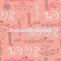 Pink Photography Backdrop - Studio Photography Prop - Kids or Teen Portrait Background - Item 1077
