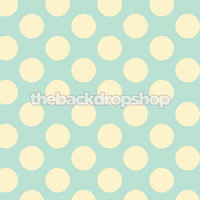 Blue and Yellow Dot Photography Backdrop - Item 1094