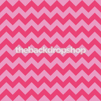 Light and Magenta Pink Chevron Zig Zag Photography Backdrop - Item 1176