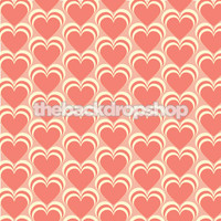 Valentine Heart Photo Backdrop - Item 1249