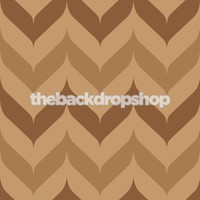 Brown Chevron Pattern Photography Background -  Chevron Photo Backdrop - Item 1280