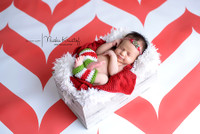 Red Chevron Pattern Photo Background  - Item 1287