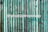 Turquoise Blue Wood Floor Floordrop - Fake Wood Wall Backdrop for Photography - Item 1306