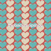 Valentines Heart Photography Backdrop  - Item 1327